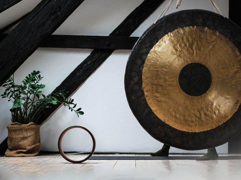 gong, yoga,