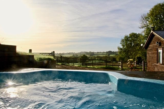 Hormonal Wellbeing Retreat in Sussex, Jacuzzi