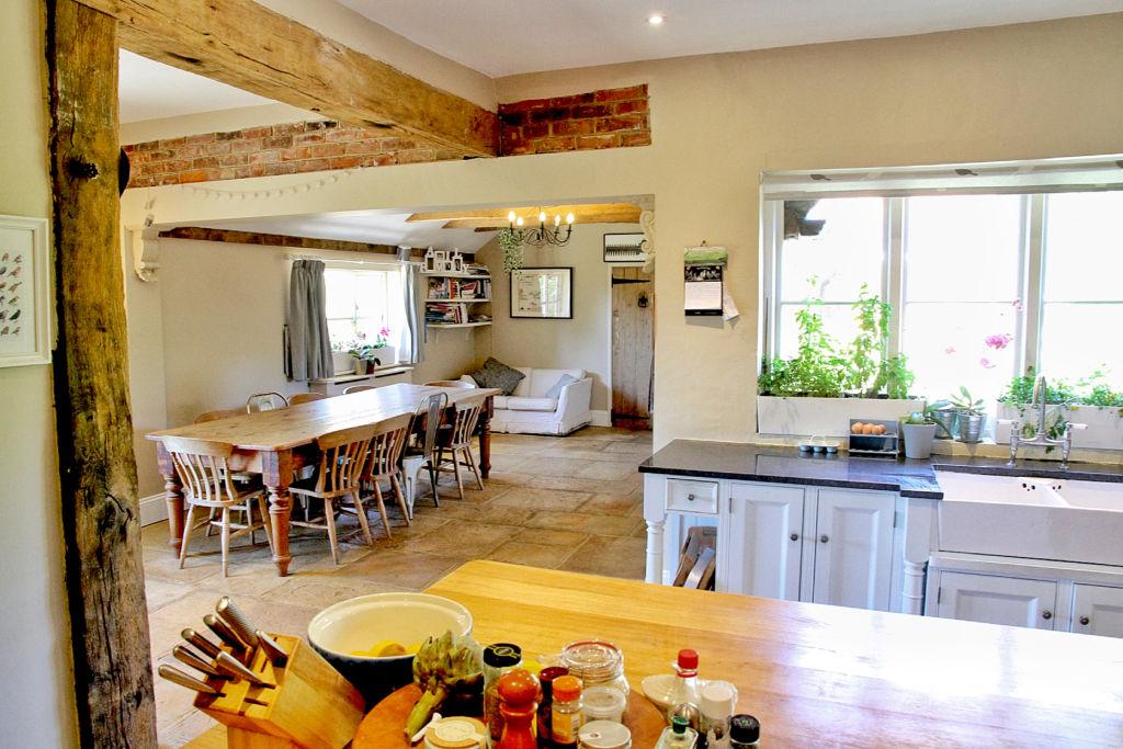Hormonal Wellbeing Retreat in Sussex, kitchen