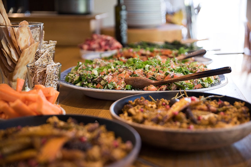 Hormonal Wellbeing Retreat Catering